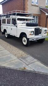 Landrover Series 3, 109 Station Wagon