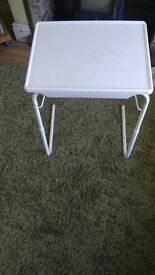 MULTI PURPOSE ADJUSTABLE TABLE BED TABLE OVER CHAIR TABLE DISABILITY AIDS £5