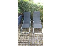 2 sunloungers for sale