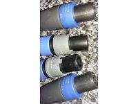 Speakon cable connectors {Pair}