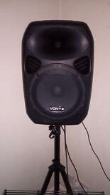 """POWERFUL 12"""" ACTIVE PA SPEAKERS"""