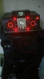 LG boom box