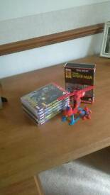 Spiderman cartoon dvds
