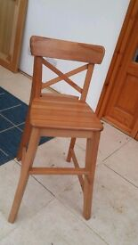 Ikea Childs Junior dining chair 'ingolf'