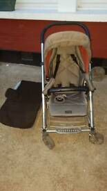 Pushchair Good condition Also comes with protective rain cover Tel 07586554748 or email