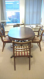 Very good Table and 4 chairs for sale