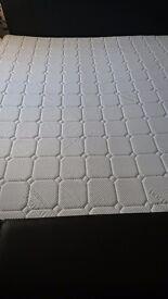 Superking bed frame snd mattress