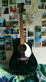 Electro-Acoustic Fender Sonoran SCE Guitar