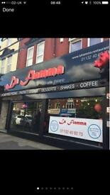 Restaurant Business for sale/partnership offer in Roundhay Leeds.