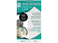 Top blinds