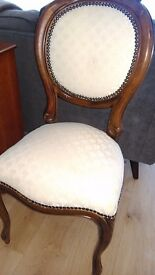 Regency reproduction chair