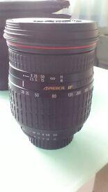 Sigma 28-300mm f3.5-6.3 Aspherical Hyperzoom Lens (Nikon AF)