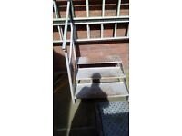 heavy duty static caravan steps