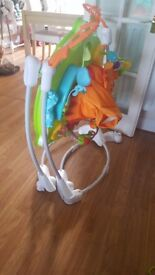 Fisher-Price Roaring Rainforest Jumperoo = £50