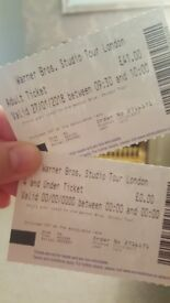 Tickets to Harry Potter Studios