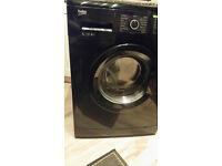 Sleek black Beko washing machine (6kg drum) Only £70!!!
