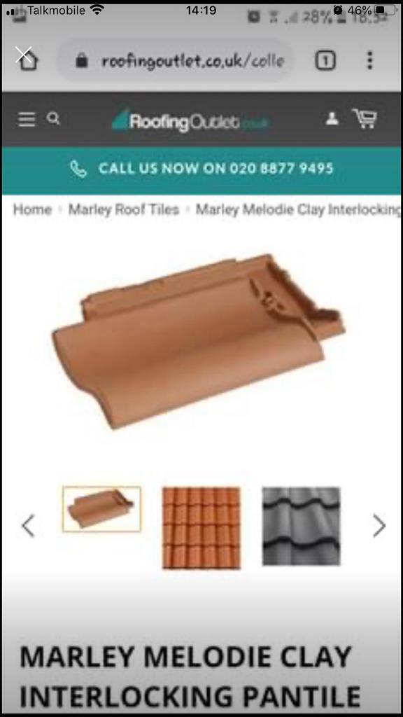 Marley Melodie Roof Tiles 130 New Tiles In Yeovil Somerset Gumtree
