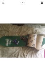 Skateboard deck and accessories all new