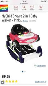 2 in 1 Baby Walker Only £20