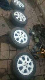 Vauxhall 4 Stud alloys