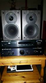 Cambridge audio/cd/amp,speakers