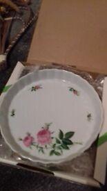 Flan dish, new £5