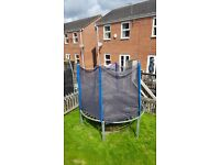 Used trampoline