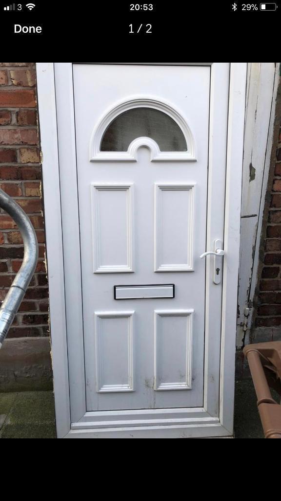 Pvc White External Door In Irlam Manchester Gumtree