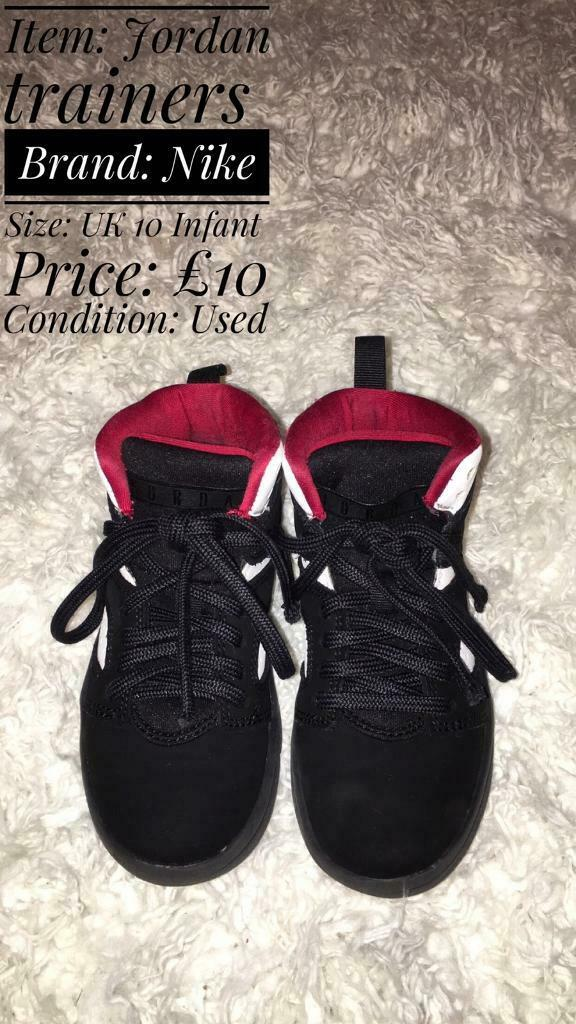 10In SydenhamLondon Gumtree Nike Trainers Infant Jordan Uk H29IED