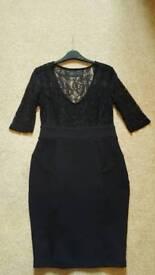 Kardashian Kollection Black Lace Dress
