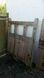 Oak gates