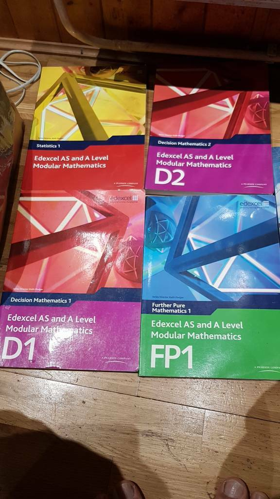 Edexcel a level maths text books