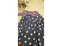 2x gorgeous girls dresses 1 x Joules (4 years) 1 x George floral print like Cath Kidston (4-5 years)