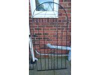 Wrought iron gates (2 singles of same style)