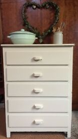 Painted Drawer Unit