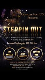 Ultimate Soul UK presents 'Steppin Out'