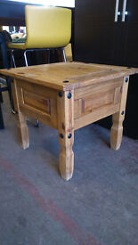 Small square pine table (delivery available)