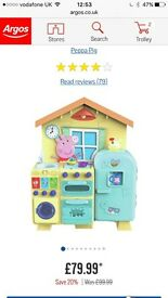 Peppa pig kitchen for sale fantastic condition never been played with