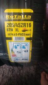 2x 205/45ZR16 87W XL