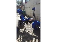 2x little tikes 4in 1 blue trikes