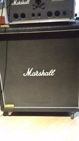 Marshall stereo cab and power amp