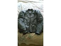 IXS leather motor cycle jacket