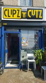 Barber shop located in Croydon for part sublet