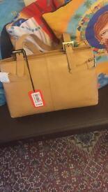 Original leather GiGi brown Handbag
