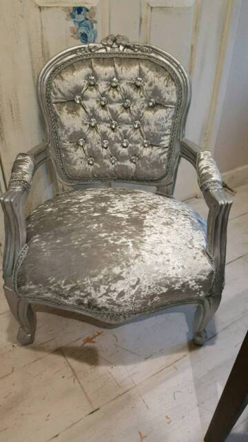 Fabulous Kids French Louis Chair In Waterlooville Hampshire Gumtree Creativecarmelina Interior Chair Design Creativecarmelinacom