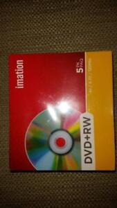 Imation 4.7GB DVD RW (5-Pack) Sealed Pack For Sale Melbourne CBD Melbourne City Preview