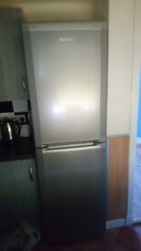 Silver Beko frost free fridge freezer