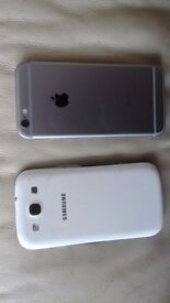 *QuickSale* Iphone 6 & Galaxy S3 and more