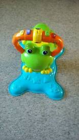 Spin and bounce frog