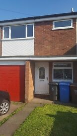 3-bedroom unfurnished terraced house to rent.